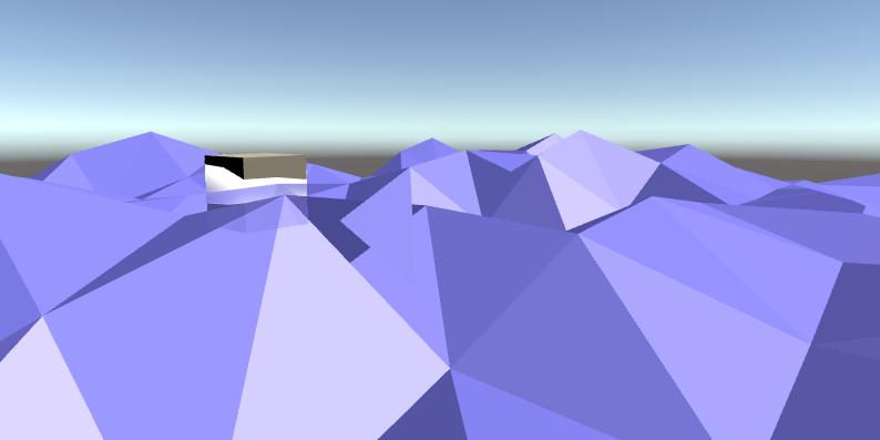 Client side ocean simulation
