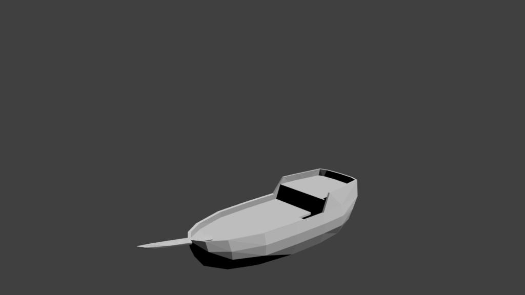 Ship model with basic hull