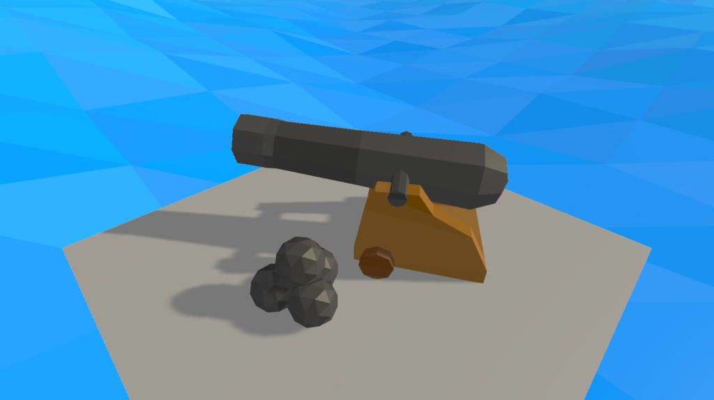 New cannon and cannonball models